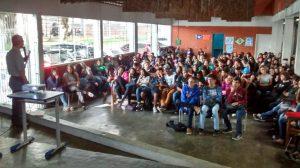 Palestra sobre Dependencia Quimica - Escola Comendador Miguel Maluhy