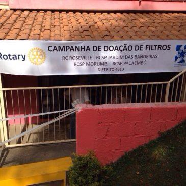 Doação de Filtros – agosto 2015