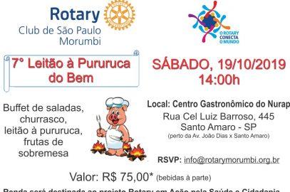 Convite para o Leitao a Pururuca 7