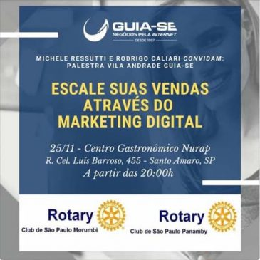 Palestra gratuita – Escale suas vendas através do Marketing Digital – Segunda, dia 25/11 às 20h no Nurap