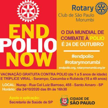 Campanha de vacinação contra a Pólio 2020 !