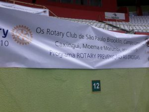 O projeto tem apoio e participação de vários clubes de Rotary, incluindo o RCSP Morumbi